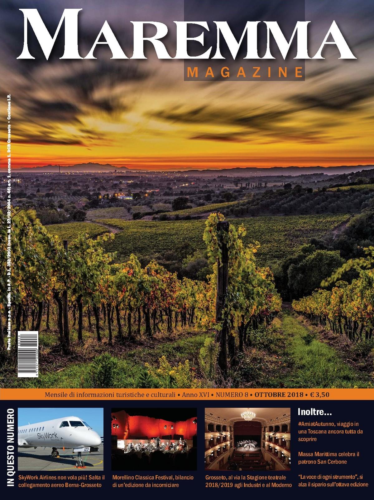 8324183372 Maremma Magazine - OTTOBRE 2017 - Numero 8 - [CS Edizioni srl]